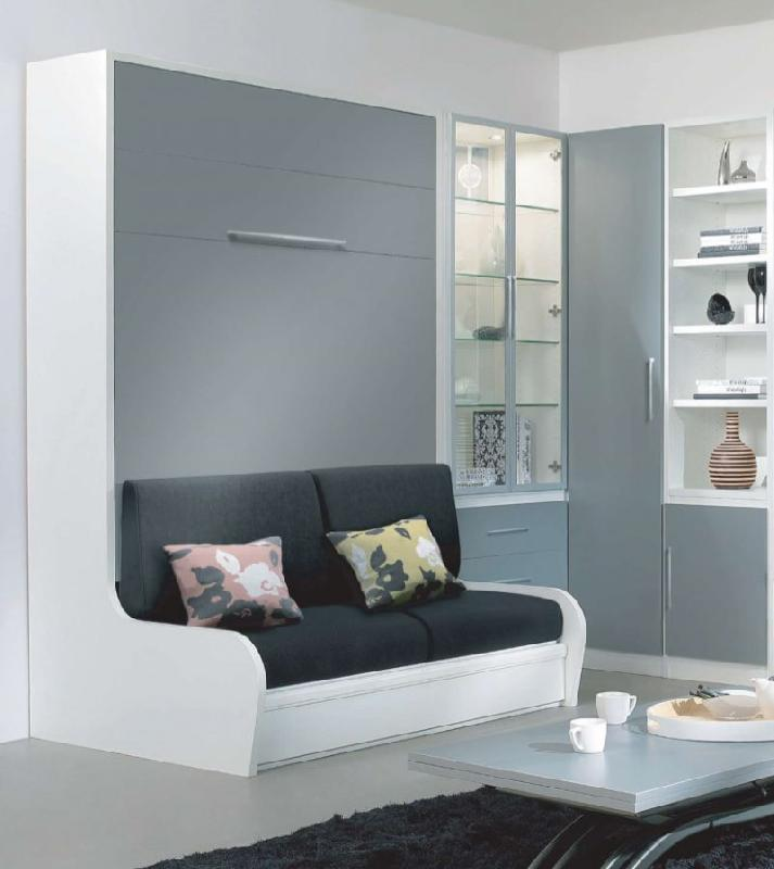 armoire lit escamotable campus jacquelin autoporteur avec. Black Bedroom Furniture Sets. Home Design Ideas