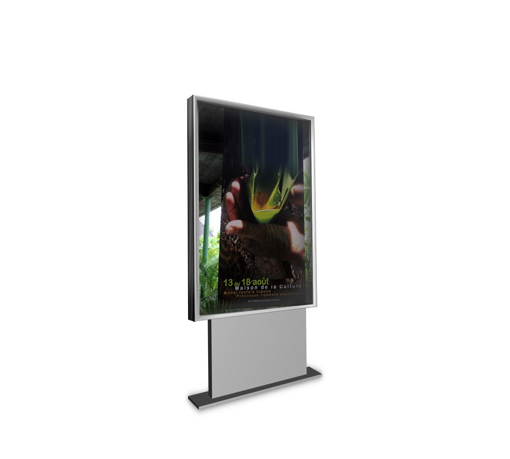 panneau sucette planimetre 2m kikaffich. Black Bedroom Furniture Sets. Home Design Ideas