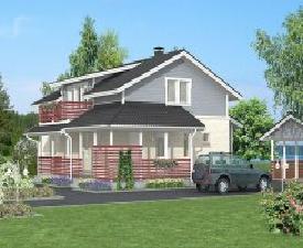Maisons passives classiques en bois maison bianca for Maison bois classique