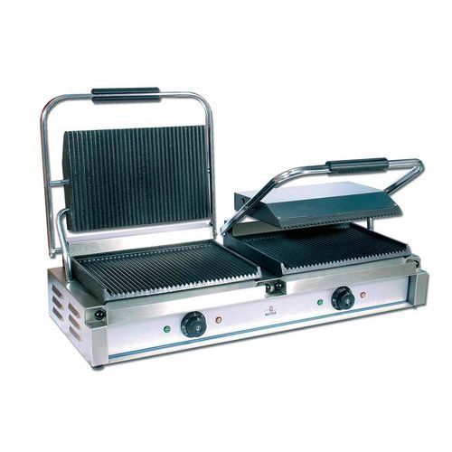 GRILL PANINI DOUBLE 230 VOLTS_120 838