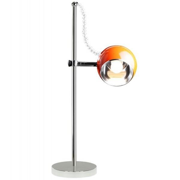 Lampe de table orange