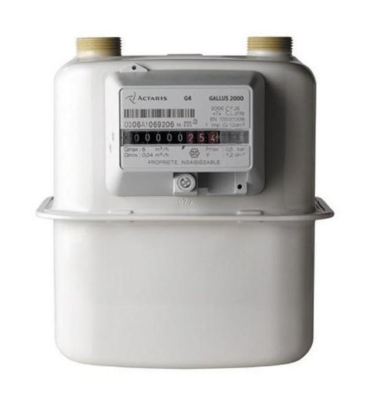 COMPTEUR GAZ GALLUS 2000 G4 - ITRON