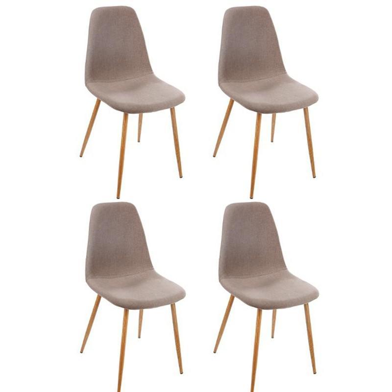 paris design taupe chaises prix Lot 4 taho de 87cm LpqSzUMVjG