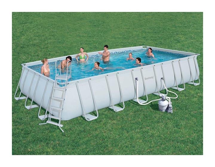 Piscines bestway achat vente de piscines bestway for Piscine bestway steel pro