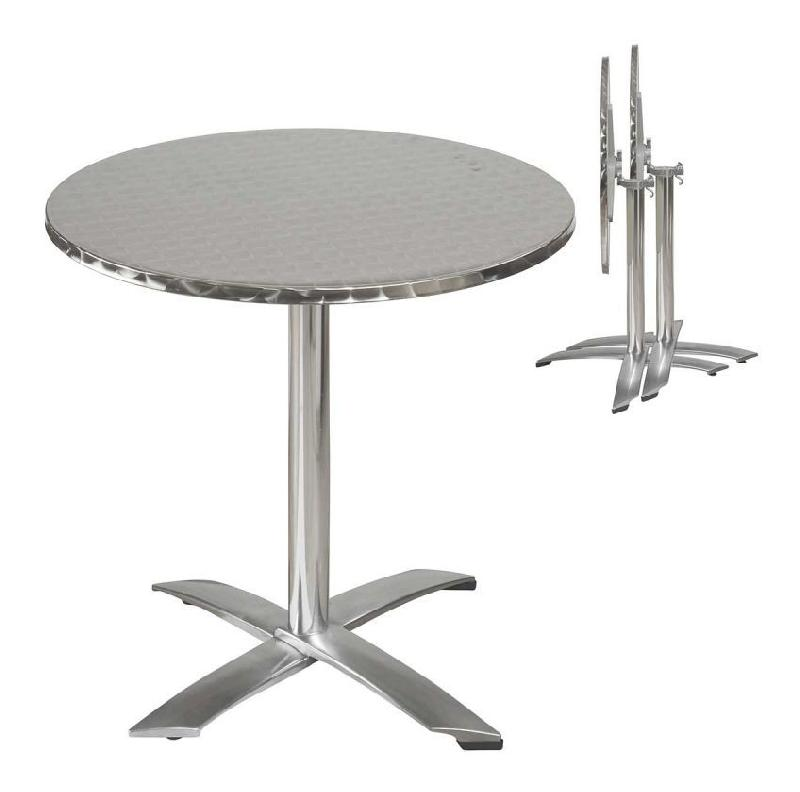 Table haute jardin pliante des id es for Table jardin metal ronde pliante