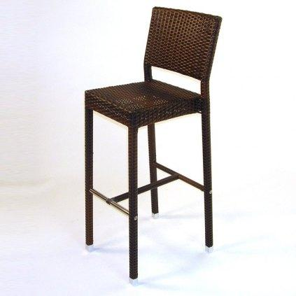tabouret imitation rotin hauteur 65 cm ou 80 cm. Black Bedroom Furniture Sets. Home Design Ideas