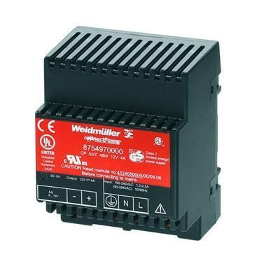 ALIMENTATION RAIL DIN WEIDMÜLLER CP SNT 48W 12V 4A 15 V/DC 4 A 48 W 1 X