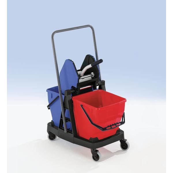 Equipement pour chariot de nettoyage
