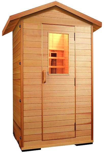cabine sauna infrarouge j101h. Black Bedroom Furniture Sets. Home Design Ideas