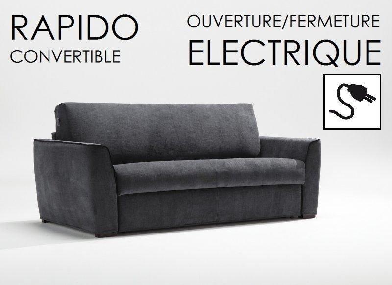 canape rapido 140 cm automatiko ouverture fermeture. Black Bedroom Furniture Sets. Home Design Ideas