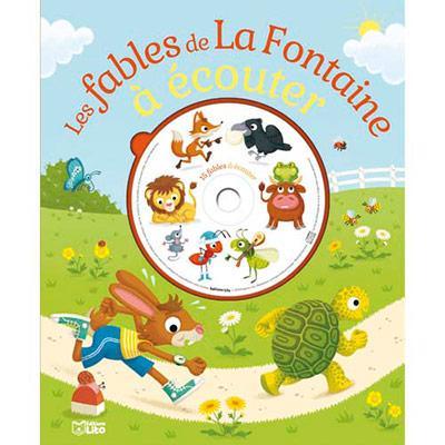 LIVRE AVEC CD 15 FABLES DE LA FONTAINE