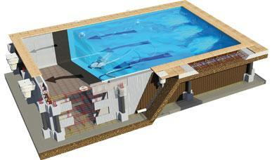 piscine en kit bloc polystyrene 10x5 m profondeur m. Black Bedroom Furniture Sets. Home Design Ideas
