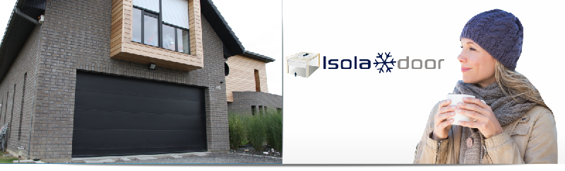 Portes de garage sectionnelles isoladoor - Fournisseur porte de garage sectionnelle ...