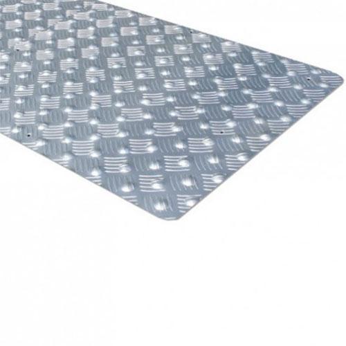 bande d 39 eveil a la vigilance en aluminium l 620 mm. Black Bedroom Furniture Sets. Home Design Ideas