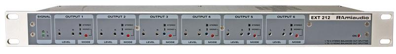 Distributeur de sorties symétriques - ext212