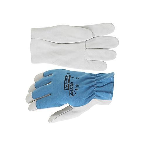 gants de travail cuir fleur 22081 espuna comparer les prix de gants de travail cuir fleur 22081. Black Bedroom Furniture Sets. Home Design Ideas