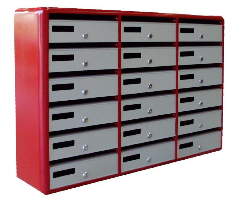 boites aux lettres multiples modele 3260 95. Black Bedroom Furniture Sets. Home Design Ideas