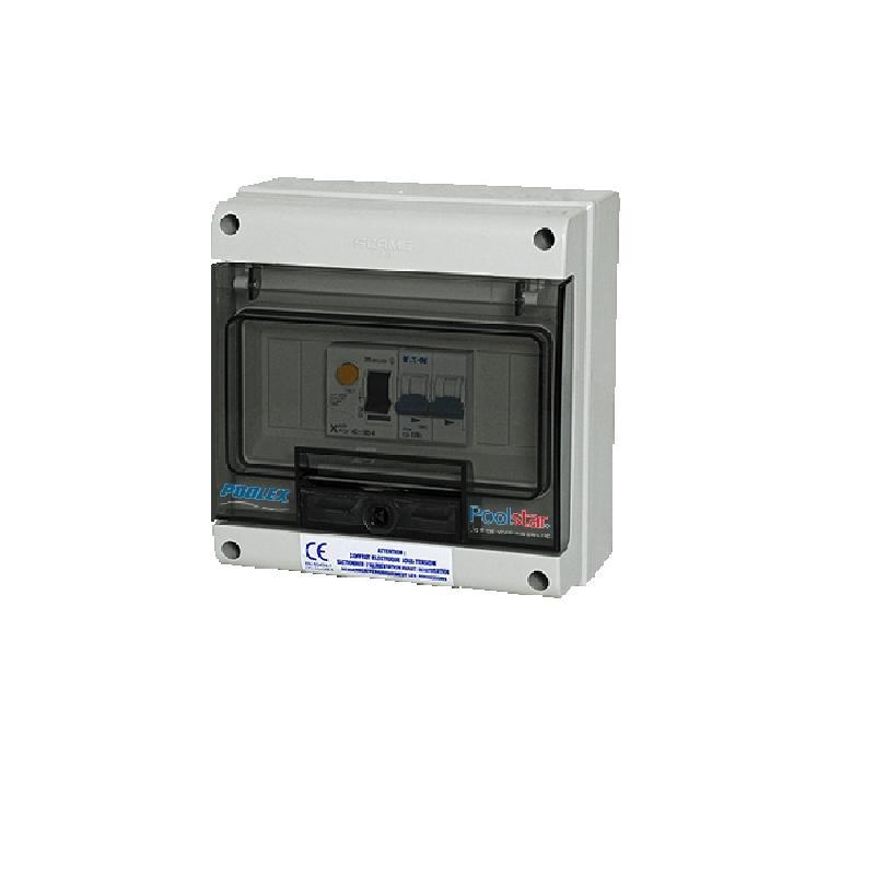 Coffrets lectriques poolex achat vente de coffrets for Consommation electrique pompe piscine