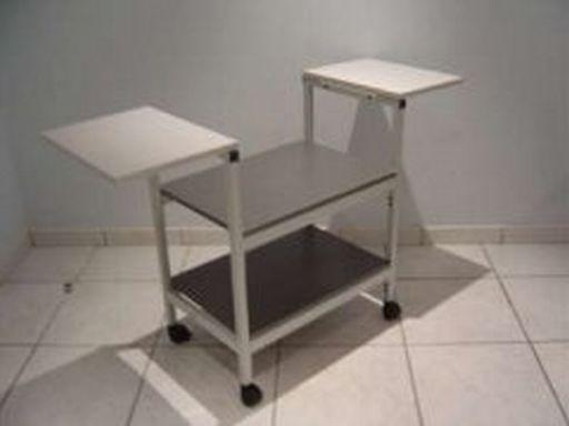 Table a 2 plateaux pour televiseur p107t for Table televiseur