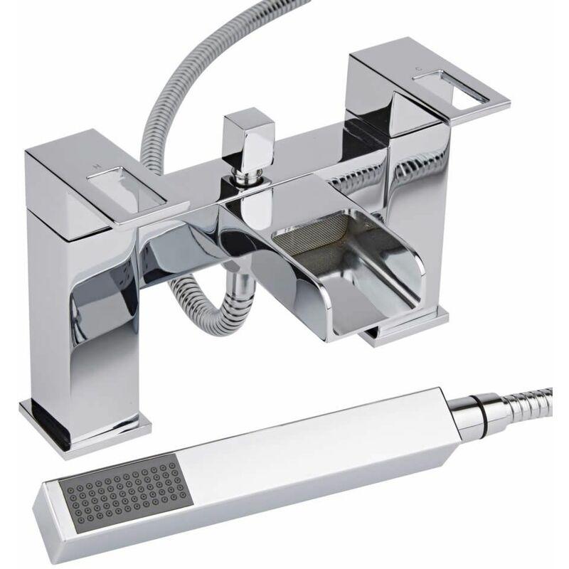 robinet bain douche cascade hudson reed comparer les prix de robinet bain douche cascade. Black Bedroom Furniture Sets. Home Design Ideas