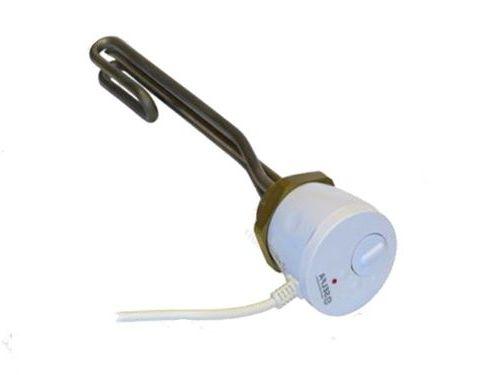 Résistance électrique pour ballon 2.0KW 230V avec thermostat 1 1//2'' inox