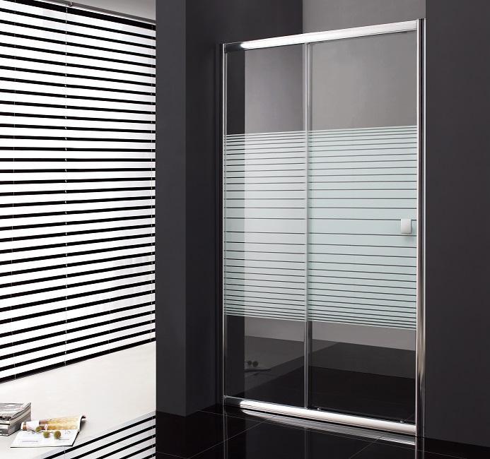 paroi de douche coulissante 110 cm titan verre tremp 6mm s rigraphi comparer les prix de paroi. Black Bedroom Furniture Sets. Home Design Ideas