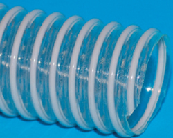 Gaine flexible en polyurethane spirale pvc