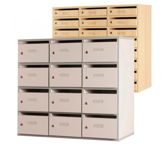 Meuble courrier 24 cases