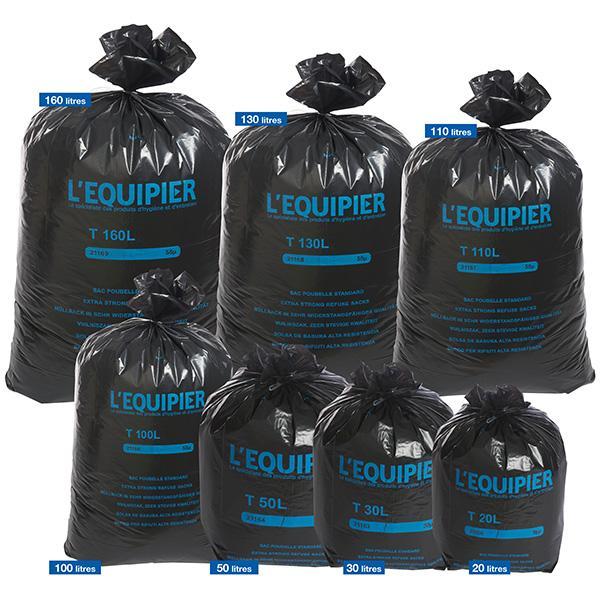 sac poubelle l 39 equipier achat vente de sac poubelle l 39 equipier comparez les prix sur. Black Bedroom Furniture Sets. Home Design Ideas