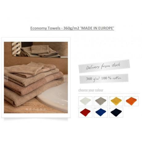 Serviette economy coton 50x100cm dag-gset50x100