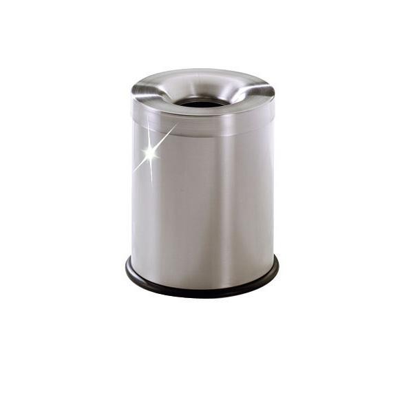 poubelles d 39 int rieur anti feu inox poubelle d 39 int rieur anti feu inox 15l comparer les prix. Black Bedroom Furniture Sets. Home Design Ideas