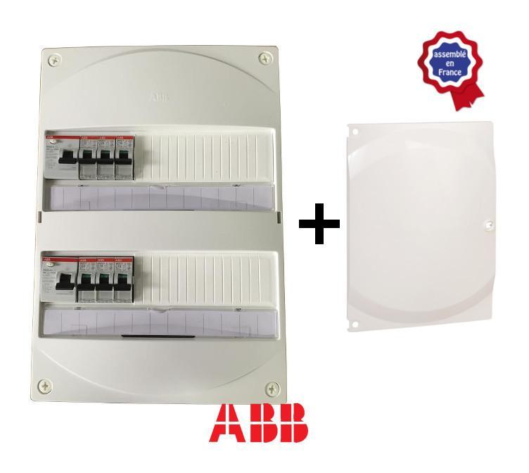 tableau electrique abb pour gtl avec 1 id 63a autres interrupteurs differentiels 40a et. Black Bedroom Furniture Sets. Home Design Ideas
