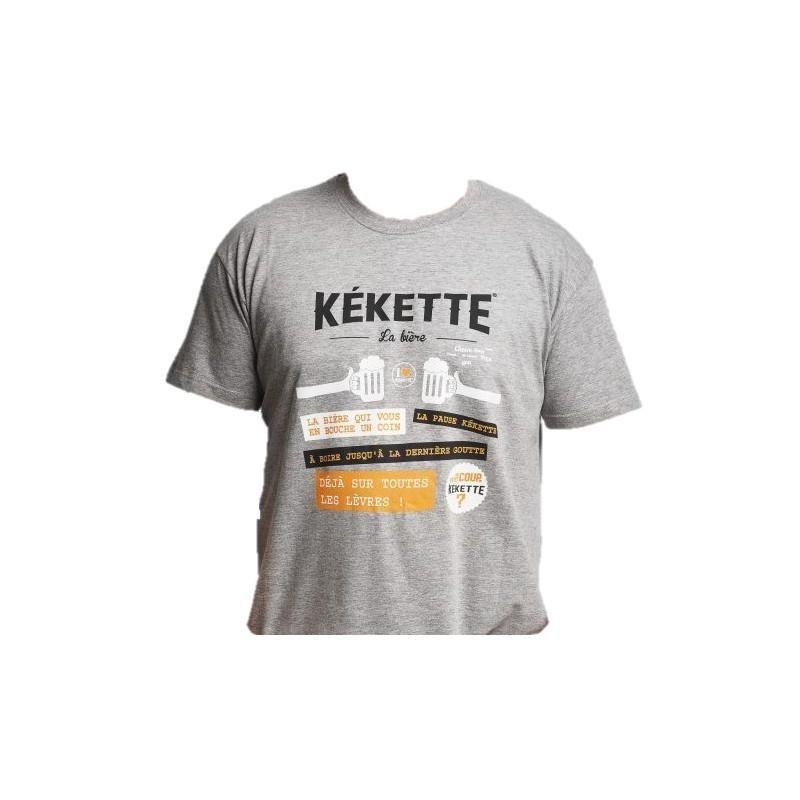 T-SHIRT - KEKETTE T SHIRT GRIS XL