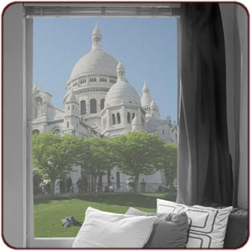 sticker vitres sacre coeur. Black Bedroom Furniture Sets. Home Design Ideas