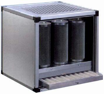 Caisson de ventilation à charbon actif dynamique caisson de ventilation à charbon (carbo 14)