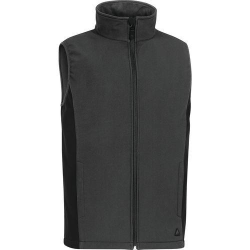 GILET HALDEN SOFTSHELL POLYESTER 3 COUCHES LAMINEES