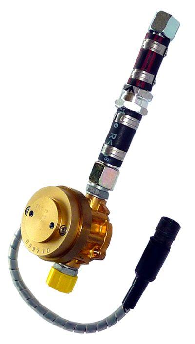 Aic 1200 - débitmètre de carburant - flowmeter - 2000 impulsions par litre (modèle 1204), 800 impulsions par litre (modèle 1208)