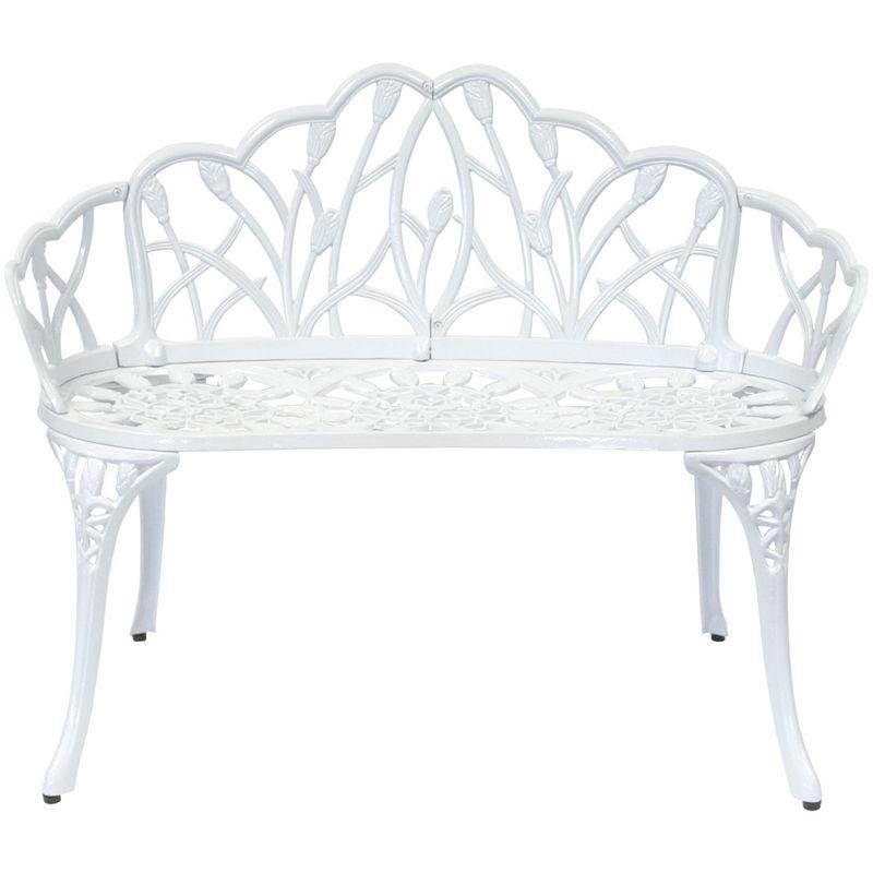 banc en m tal charles bentley achat vente de banc en. Black Bedroom Furniture Sets. Home Design Ideas