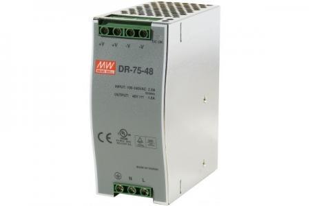 CUC-314648 - ALIMENTATION INDUSTRIELLE 48VOLT 75W 1,6A SUR RAIL DIN
