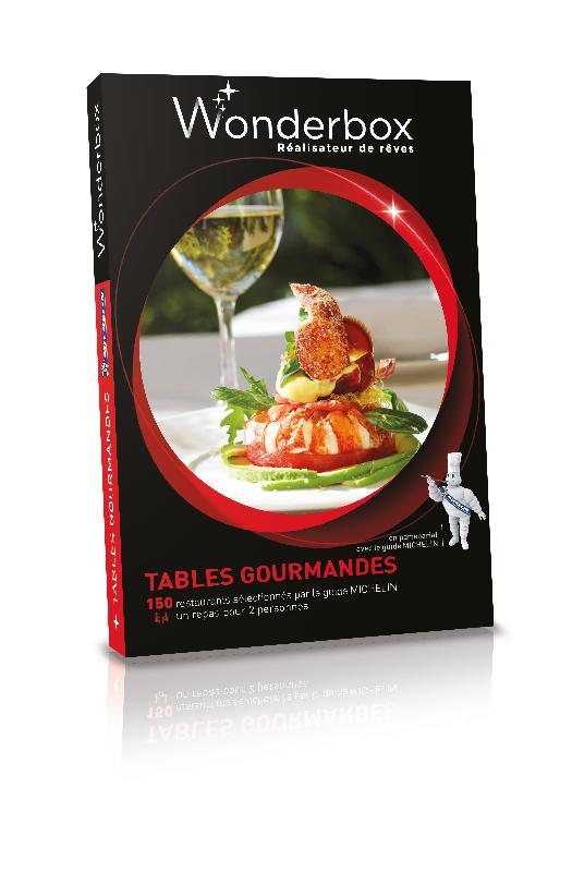 Coffrets gastronomiques tous les fournisseurs coffret gastronomique coffret de cuisine - Tables gourmandes wonderbox ...