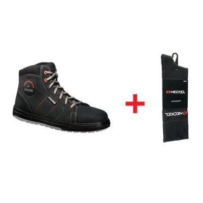 Chaussures de sécurité hautes saxo + 1 paire de chaussette offerte lemaître  sécurité 55432695dade
