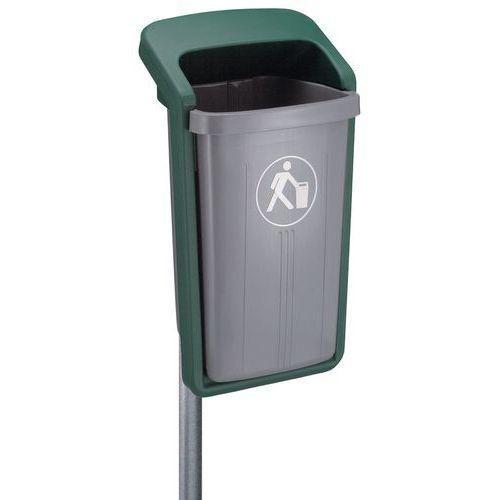 poubelle publique manutan achat vente de poubelle publique manutan comparez les prix sur. Black Bedroom Furniture Sets. Home Design Ideas