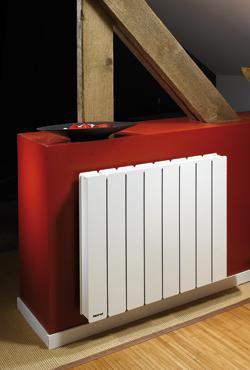 radiateur electrique rayonnant a inertie bellagio. Black Bedroom Furniture Sets. Home Design Ideas