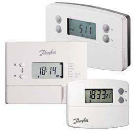 Danfoss produits thermostats electroniques - Robinets thermostatiques programmables ...