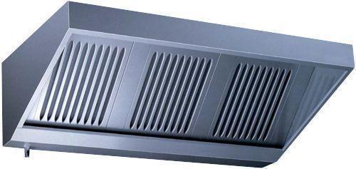 Hotte professionnelle 750 ou 950mm sans moteur hotte statique adoss e vs710sf - Hotte aspirante professionnelle sans extraction ...