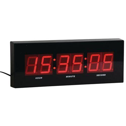 horloge murale affichage digital led squelette horloge. Black Bedroom Furniture Sets. Home Design Ideas