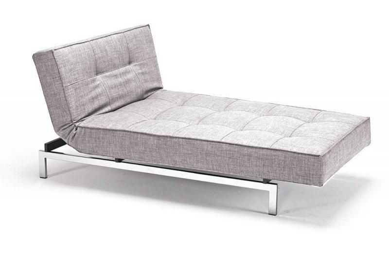 meridienne design splitback gris mix dance convertible lit innoavtion living 100 200cm. Black Bedroom Furniture Sets. Home Design Ideas