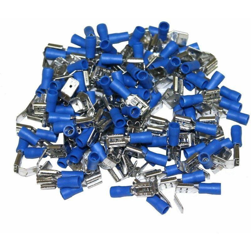 10x Cosse /électrique /à oeil oeillet isol/ée M10 /Ø10.5mm 2.5-6mm2 jaunes Aerzetix