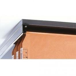 Rail pour tiroir à dossiers suspendus