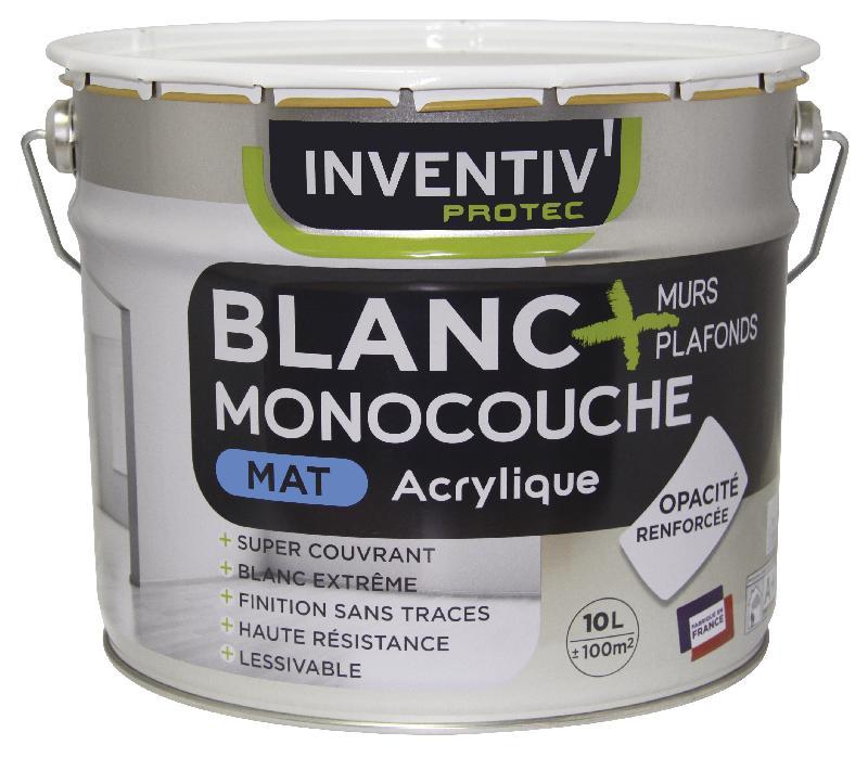 murs plafonds acrylique mat monocouche comparer les prix de murs plafonds acrylique mat. Black Bedroom Furniture Sets. Home Design Ideas